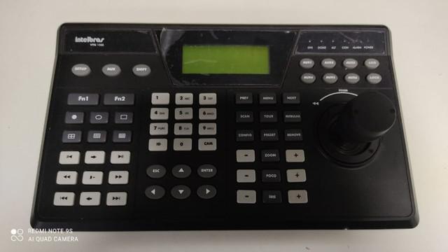 Mesa controladora híbrida - analógica e ip intelbras