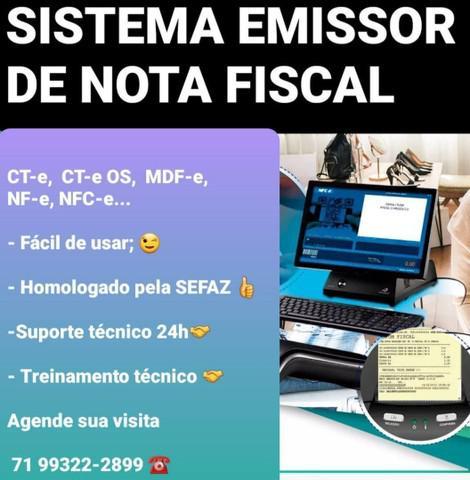 Sistema p/ emitir nota fiscal p/ computador