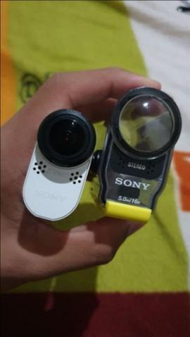 Sony action cam hdr-as100v | aceito cartão e divido