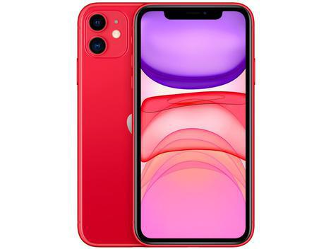 """Iphone 11 apple 128gb (product)red 6,1"""" 12mp ios -"""