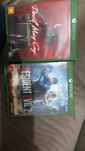 Devil may cry hd collection e resident evil 2 xbox one