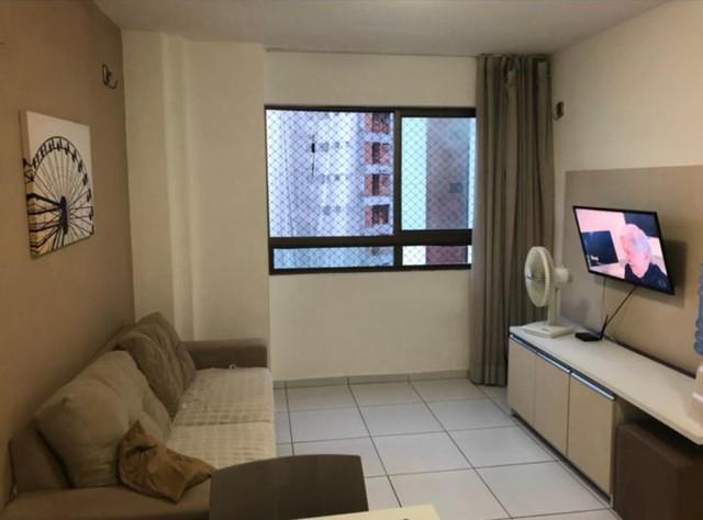 Flat em boa viagem 30m quarto e sala separados
