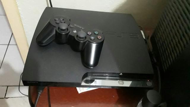 Playstation 3 slim novo