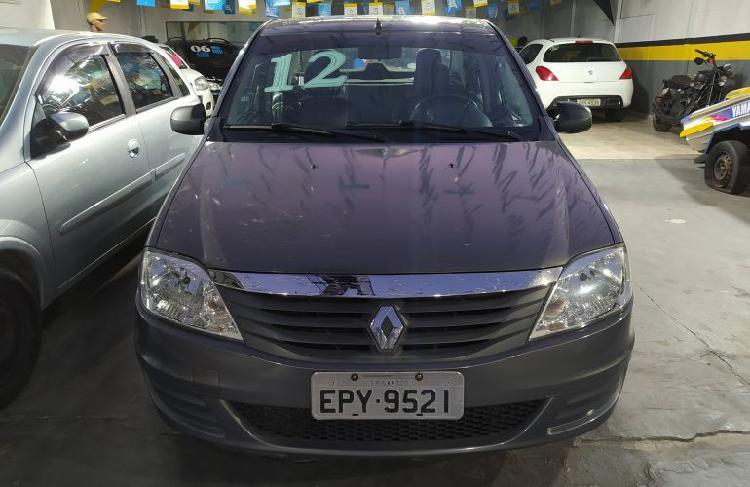 Renault logan expression 1.6 8v hi-torque (flex) / 2012