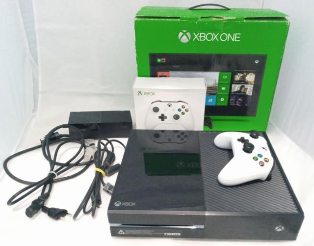 Xbox one fat 500gb + controle c/ entrada p2