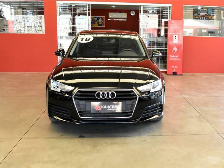 Audi a4 2.0 avant attraction preto 2018/2018 - campinas