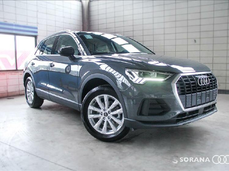 Audi q3 1.4 35 tfsi prestige plus cinza 2021/2021 - são