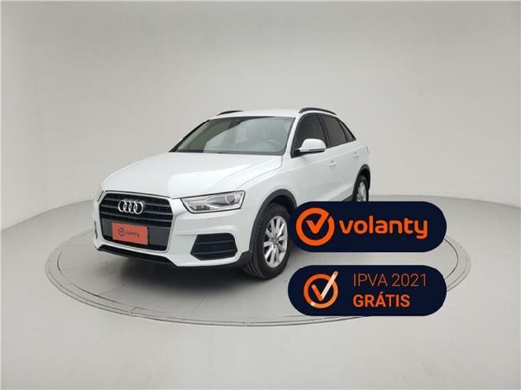 Audi q3 1.4 tfsi attraction s tronic branco 2018/2019 - são