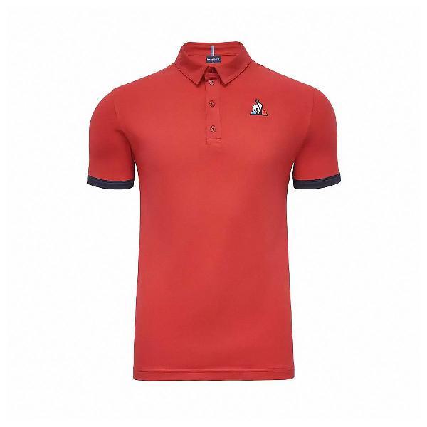 Camisa polo le coq essentials bicolor n1