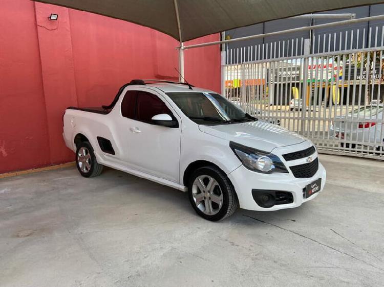 Chevrolet montana 1.4 sport 8v branco 2014/2015 - anápolis