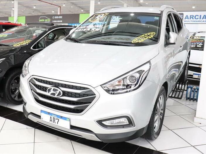 Hyundai ix35 2.0 gl prata 2017/2018 - são paulo 1497354