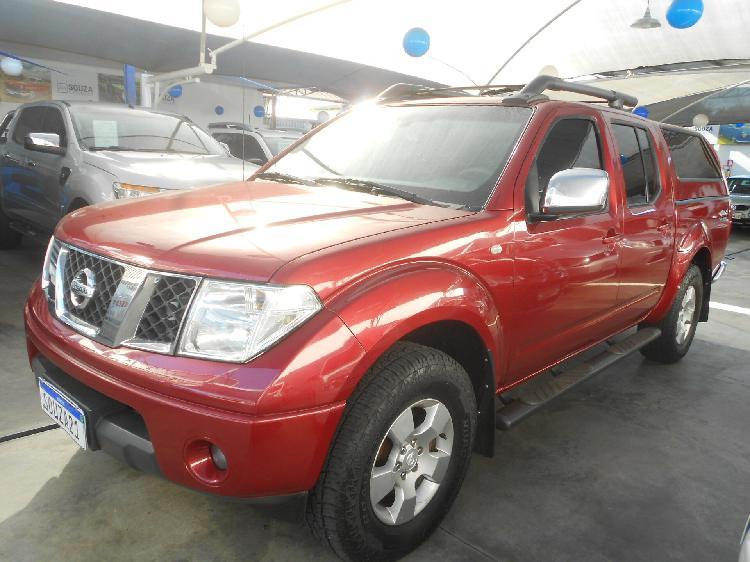 Nissan frontier 2.5 le vermelho 2011/2011 - goiânia 1497459