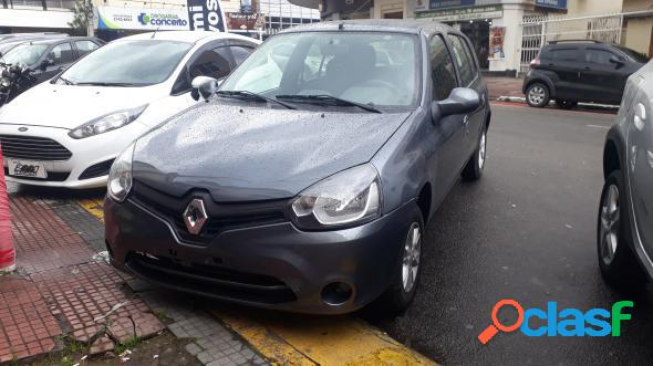 Renault clio rnalizeexpr.1.0 hi-power 16v 5p cinza 2016 1.0 flex