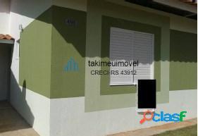 Casa com 2 dormitórios à venda, 50 m² por r$ 185.000 stella maris - alvorada/rs