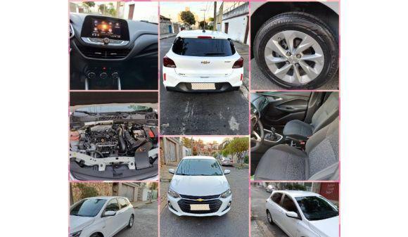Chevrolet onix hatch 1.0 lt - turbo 20/20 branco