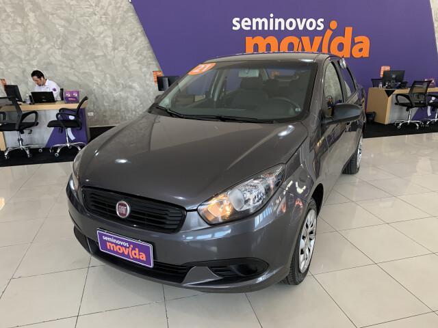 Fiat grand siena 1.4 8v cinza 2020/2021 - são paulo 1498562