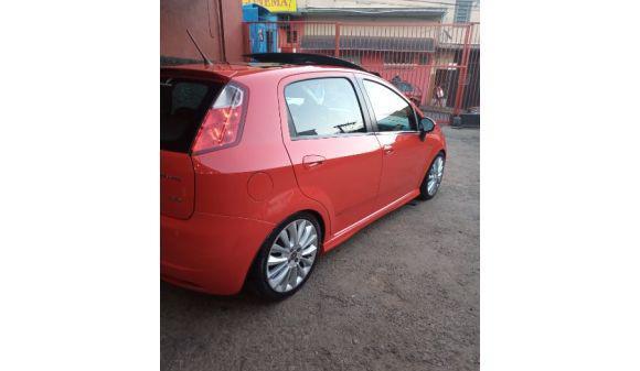Fiat punto 1.8 sporting 1.8 flex 8v/16v 5p 10/11 vermelho