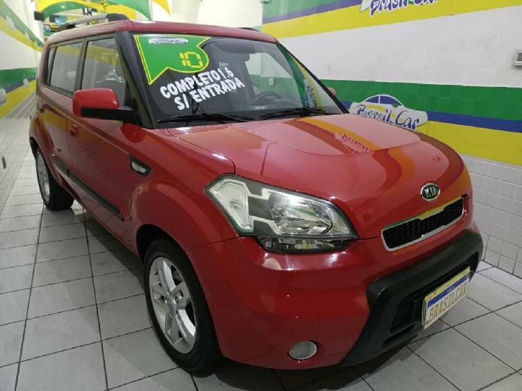 Kia soul 1.6 16v vermelho 2010/2010 - são paulo 1497936