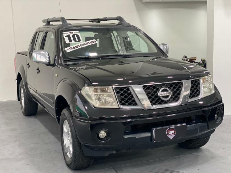 Nissan frontier 2.5 le preto 2009/2010 - são paulo 1498776