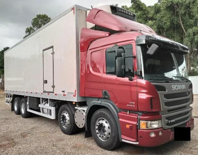 Scania p310 bitruck 8x2 bau ano 2015/15