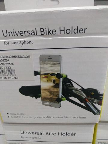 Suporte de celular para moto bicicleta cinquentinha