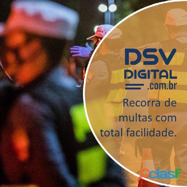 DSV DIGITAL Com essa ferramenta online, você recorre das multas junto ao Detran, Jari ou Cetran.