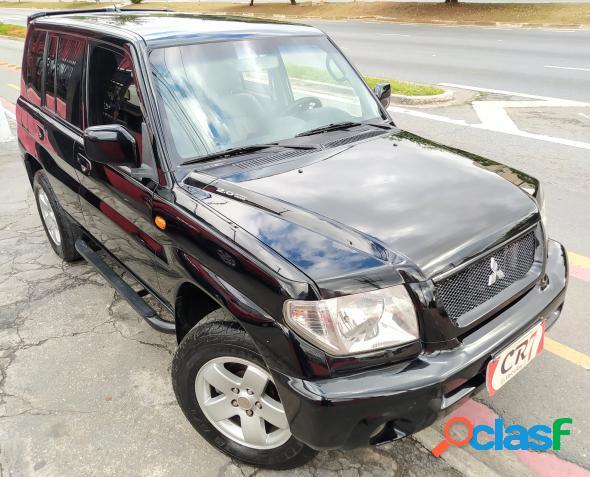 Mitsubishi pajero tr4 2.0 2.0 flex 16v 4x4 mec. preto 2005 2.0 gasolina