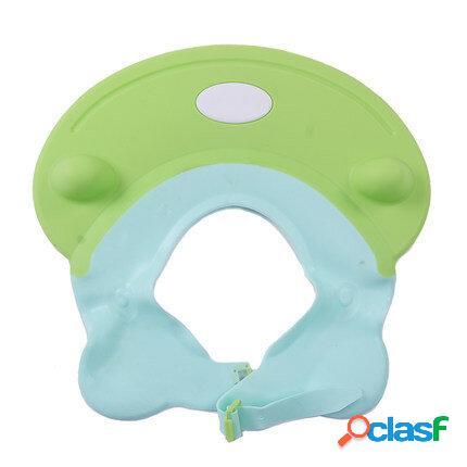 Vvcare bc-ar03 ajustável touca de banho do bebê banho de shampoo viseira chapéu de banho protetor de lavagem do cabelo