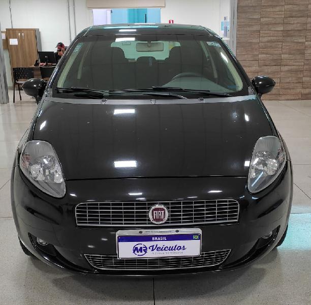 Fiat punto 1.4 attractive italia 8v preto 2012/2012 -