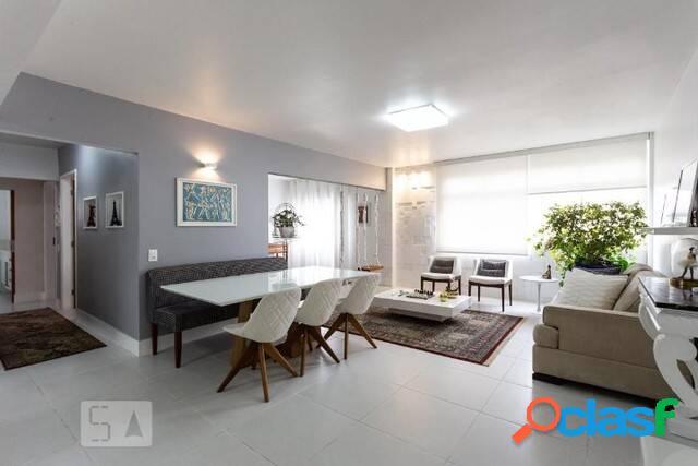 Apartamento moema locação,3 quartos, 1 vaga, 103m