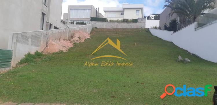 Alpha sitio lindo terreno em aclive c/ 517m² valor r$ 1080.000,00