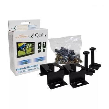 2 suporte fixo universal tv led 4k lcd plasma samsung lg
