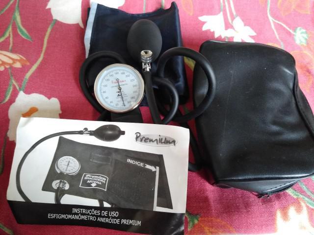 Aparelho de pressão esfigmomanômetro aneroide premium
