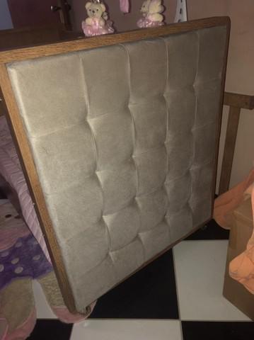 Berço Luxo Rústico acompanha colchão sem uso