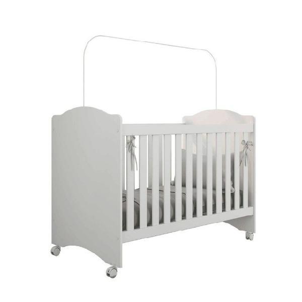 Berço regulável com rodízios litle baby atualle -