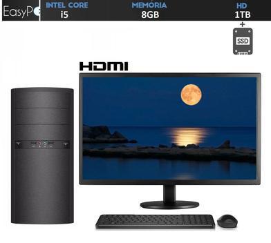 Computador pc completo intel core i5 8gb hd 1tb ssd hdmi
