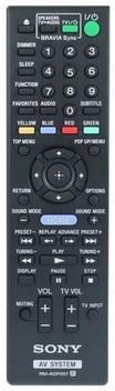 Controle remoto original sony home theater rm-adp057 ht com