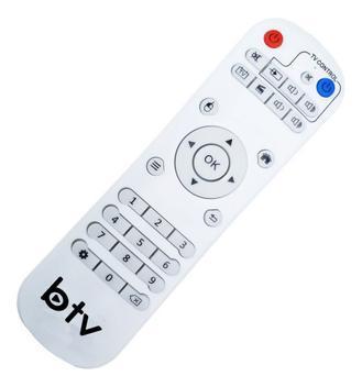 Controle remoto receptor btv b11 - controle remoto para
