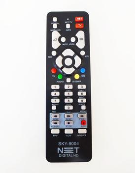 Controle remoto receptor net digital hd max cr2fp com botão