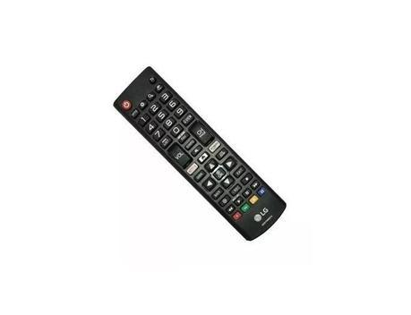 Controle remoto tv lg smart akb75095315 original netflix -