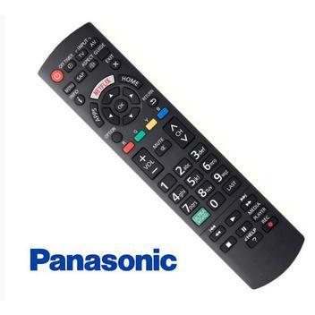 Controle remoto tvs panasonic smart led - vieira com botão