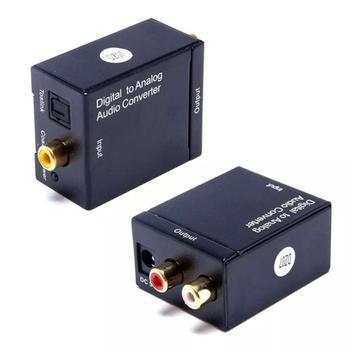 Conversor optico coaxial digital/analógico saida rca 01741