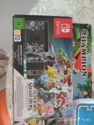 Nintendo switch edição de colecionador