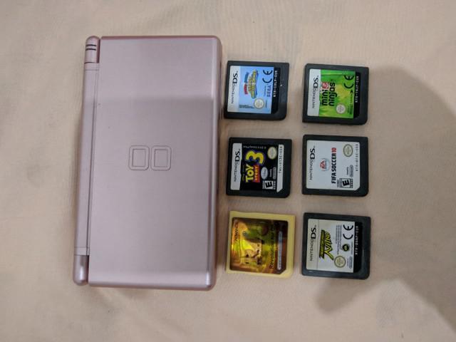 Nintendo ds lite + r4 16gb (aceito troca)