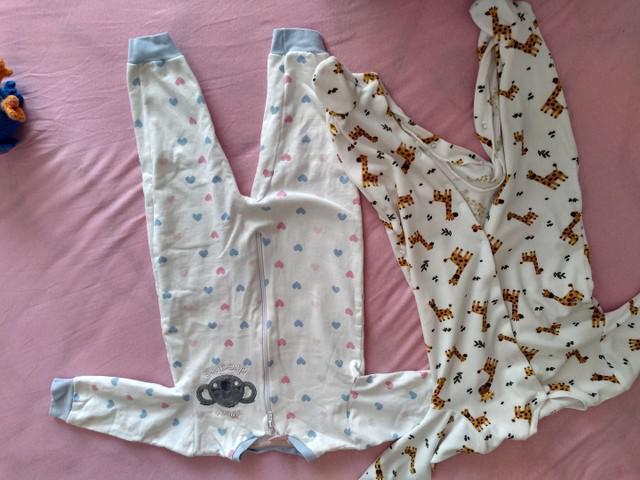 Pijamas bebê menina