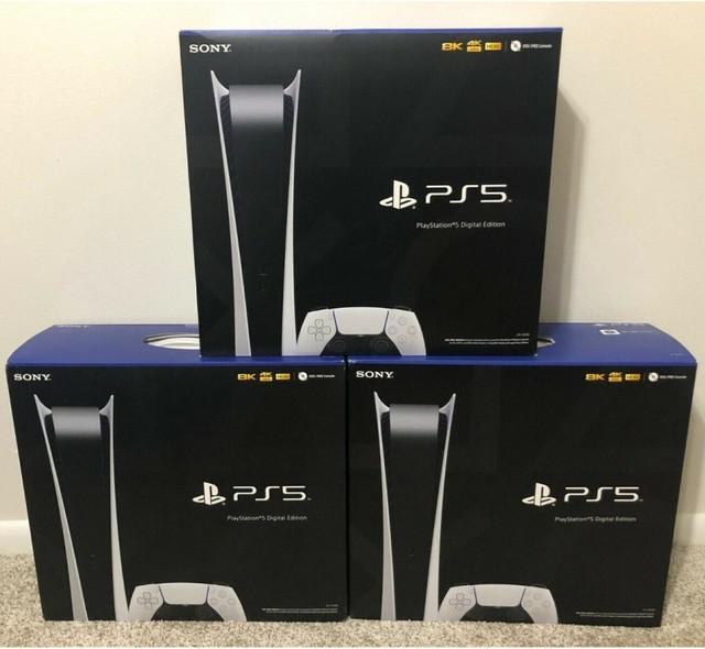 Playstation 5 console digital edition ps5