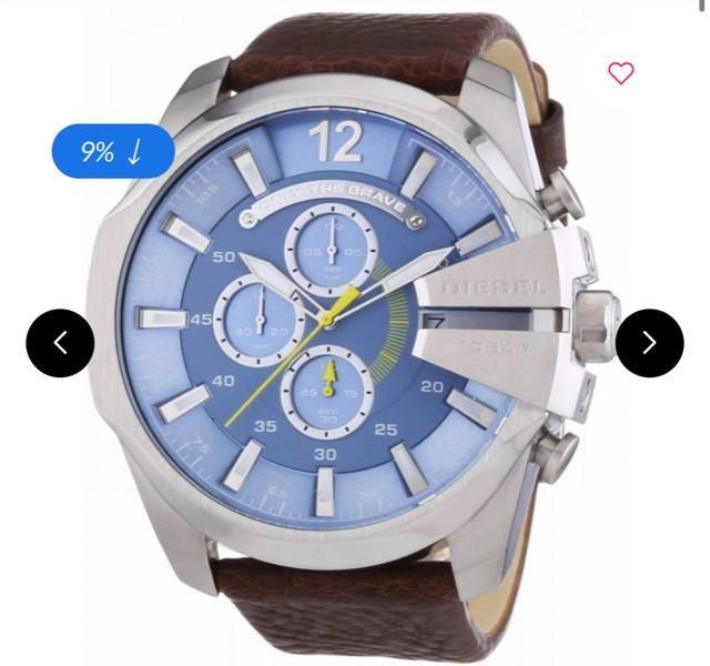 Relógio diesel masculino original