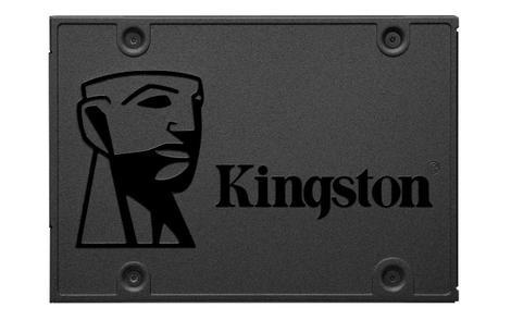 Ssd kingston a400 240gb sata - leitura 500mb/s, gravação