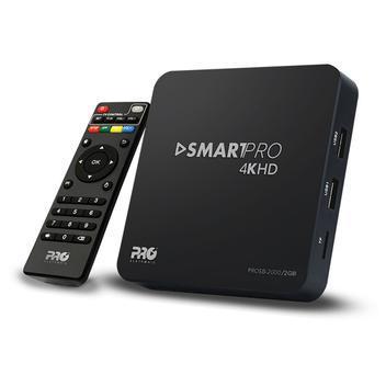 Tv box smart proeletronic 2.0gb 7.1 4k full hd - streaming -