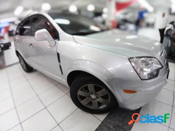 Chevrolet captiva sport fwd 2.4 16v 171185cv prata 2010 2.4 gasolina